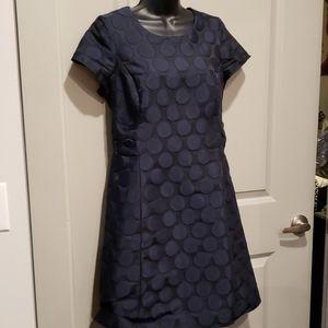 Navy Blue Boden Dress